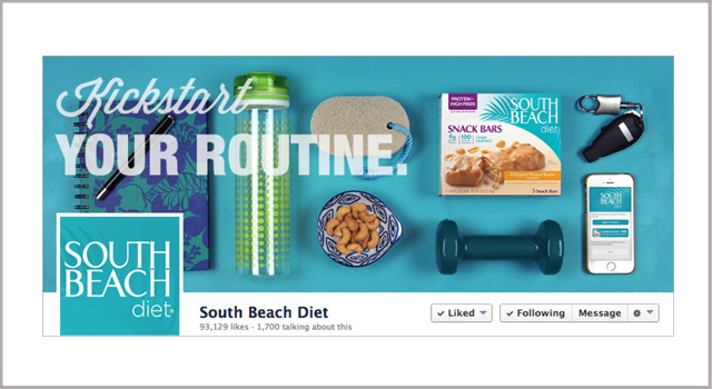 """Social Posts"" – South Beach Diet"